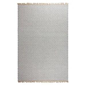 tapis tapis en plastique recycle lancut gris moyen