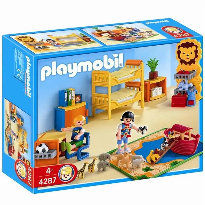 PLAYMOBIL 4287 Chambre des enfants  Achat  Vente univers miniature  Les soldes sur Cdiscount