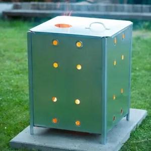 incinerateur de jardin weldom jardin