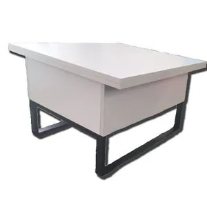 table basse relevable a allonges new viper blanc