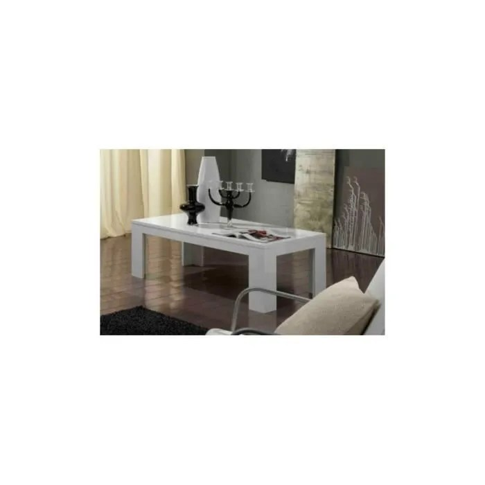 table basse blanc picasso