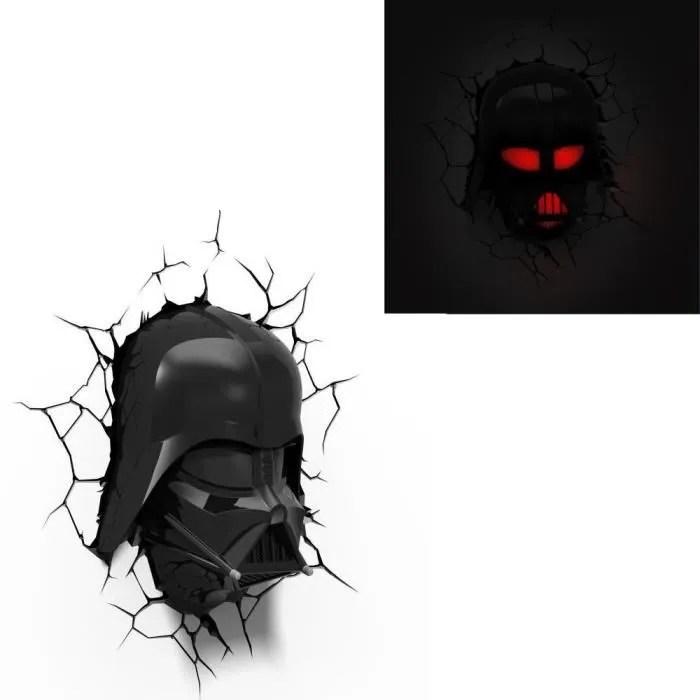 STAR WARS Lampe Dcorative 3D Dark Vador Achat Vente