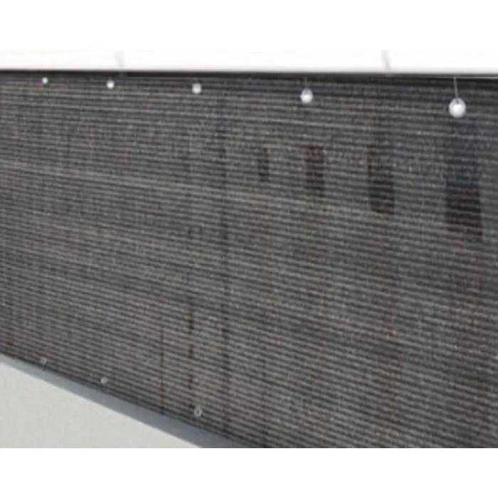 Brise vue brise vent jardin grillage palissade Havane en polyester ajour 160 gm antiUV 120