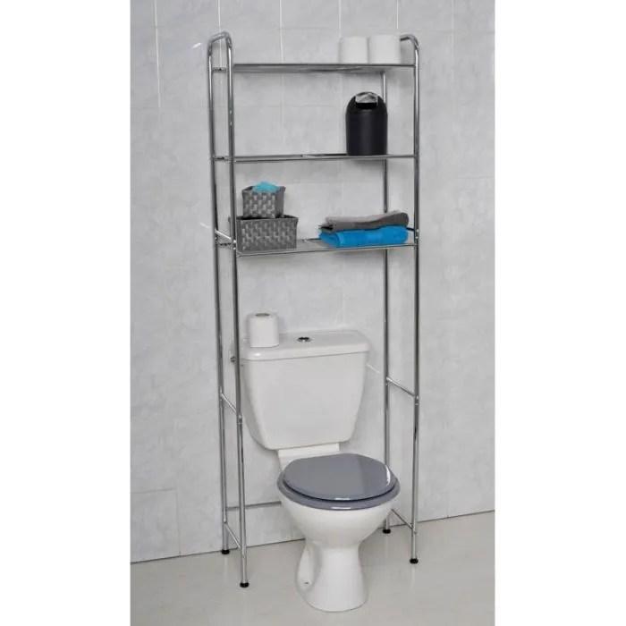 Meuble WC Metal CHROME Achat Vente Colonne Armoire