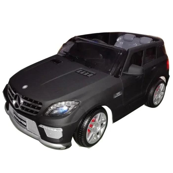 Voiture Lectrique 4x4 Noir Mat Mercedes ML63 Achat