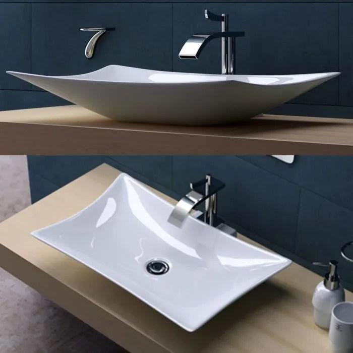 Lavabo Vasque  vier  poser  Accessoire Design  Achat  Vente lavabo  vasque Lavabo Vasque