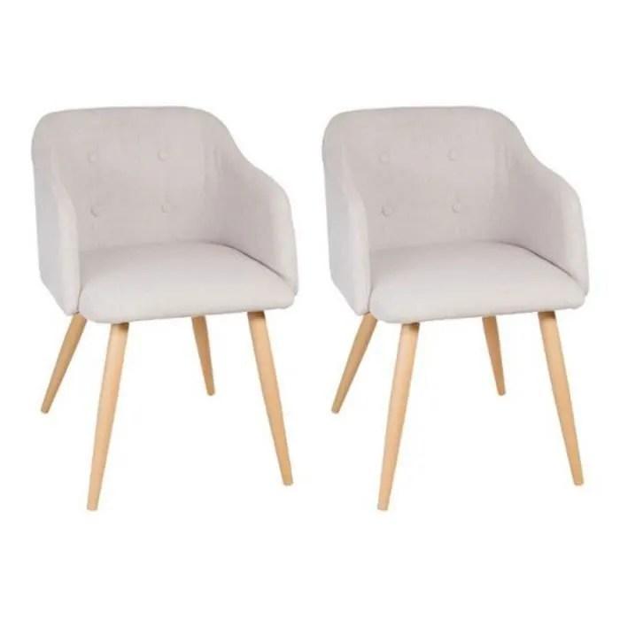 fauteuil paris prix lot de 2 fauteuils design luka 76cm