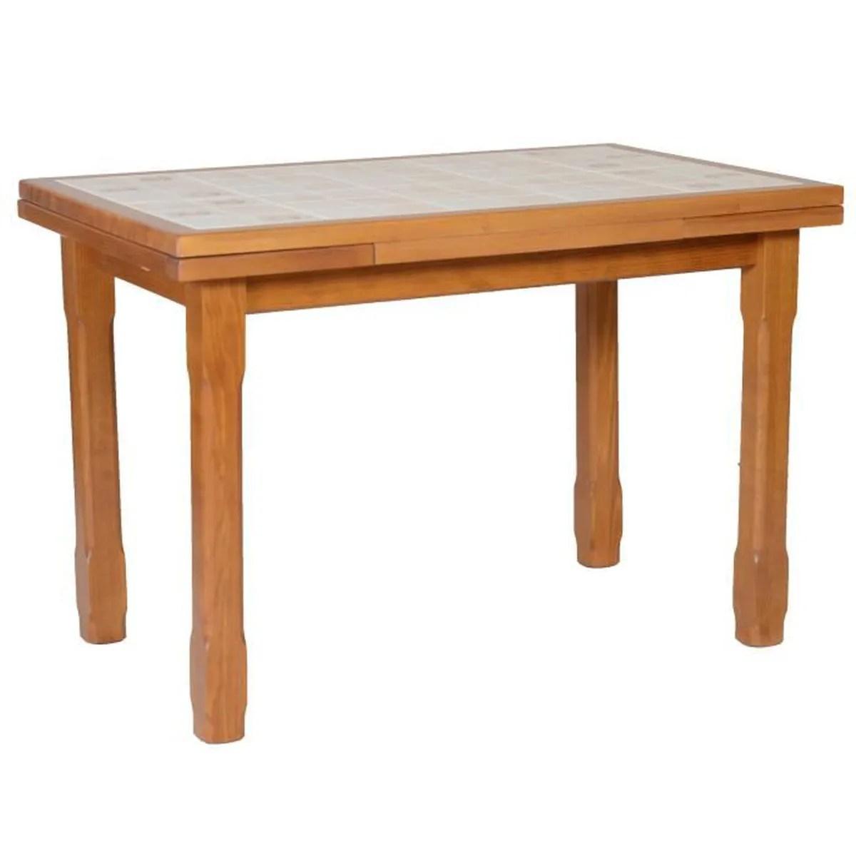 petite table de cuisine avec rallonge