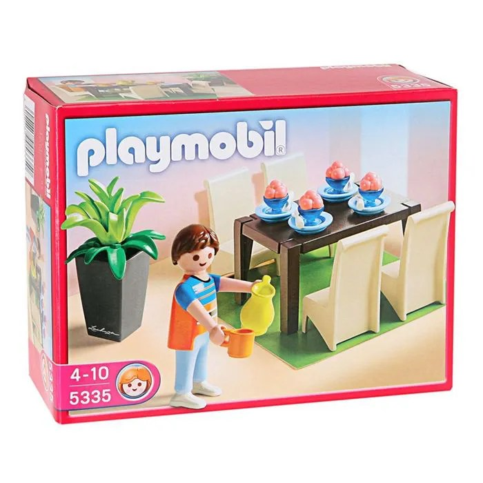 PLAYMOBIL 5355 Salle  Manger  Achat  Vente univers miniature  Cdiscount