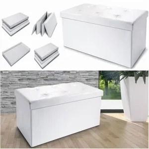 coffre malle banc coffre rangement pliable blanc gm xx c uua with but banc coffre
