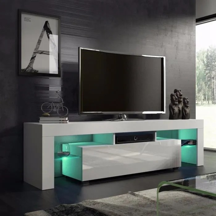 meuble tv design a la mode nordique accueil salon