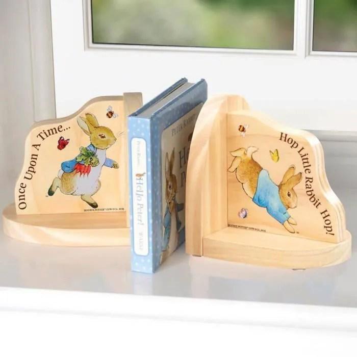 etagere bibliotheque beatrix potter pierre le lapin serre livres