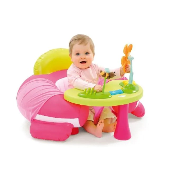 COTOONS Sige Evolutif Cosy Rose Achat Vente Chaise