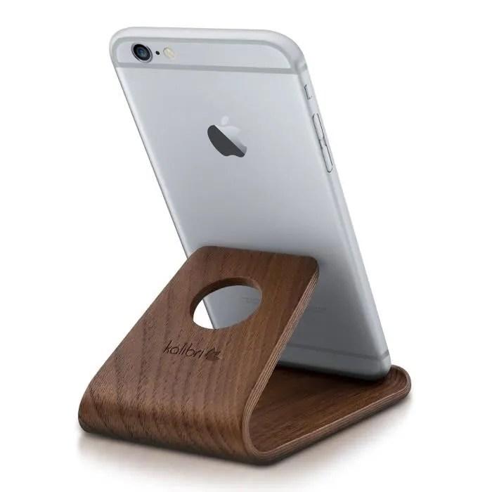 kalibri support de telephone portable stand universel pour smartphone et tablette pour par ex iphone samsung galaxy huawei e