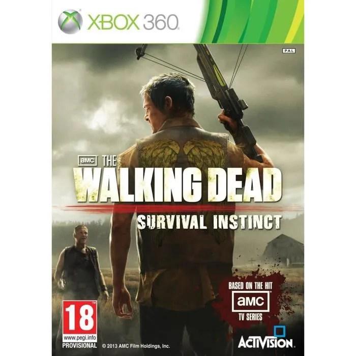 Walking Dead Jeu XBOX 360 Achat Vente Jeux Xbox 360