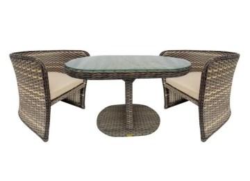 Salon De Jardin Resine Tressee Ovale | Meuble Design Mobilier ...