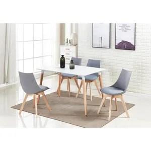 table de cuisine ensemble de salle a manger lanzo table blanche