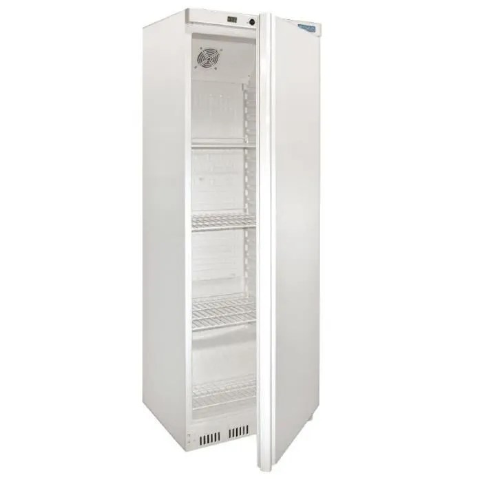 armoire refrigeree positive 1 porte blanche 400l polar