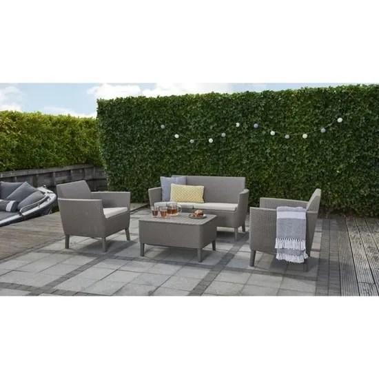 salon de jardin ensembles de meubles d exterieur couleur cappucc