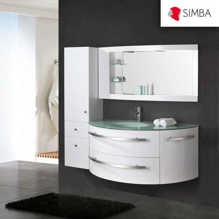 meuble salle de bain 120 cm blanc colonne vasque robinett ambassador ensemble comme dans la photo 100 robinetterie inclus garanti