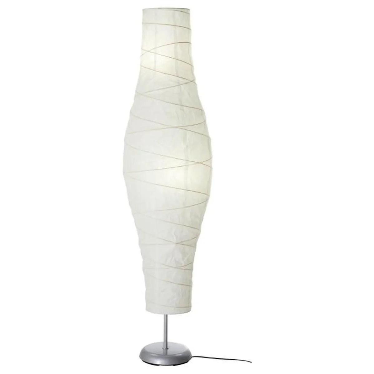 Ikea Lampadaire Papier Blanc Hauteur 137cm