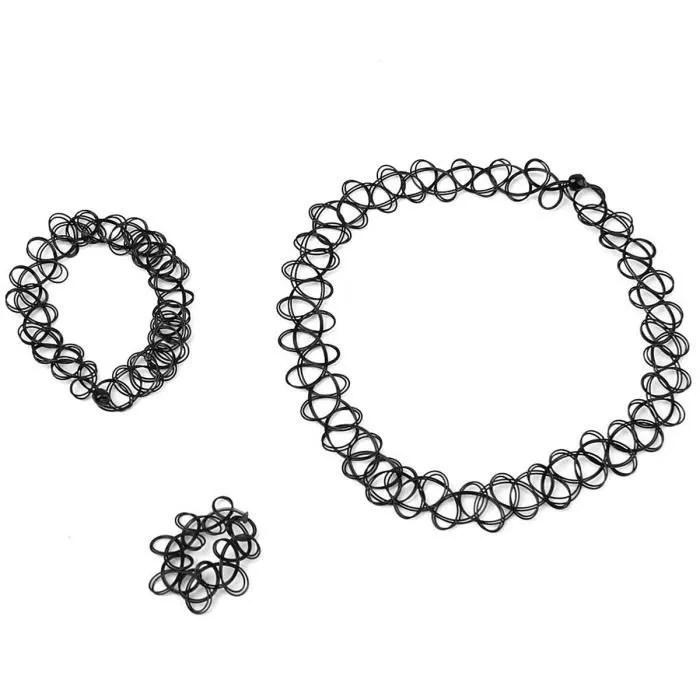 Bracelet Elastique Noir