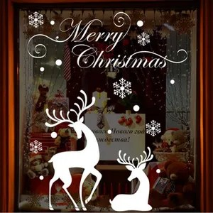 Decoration Vitre Noel Achat Vente Decoration Vitre