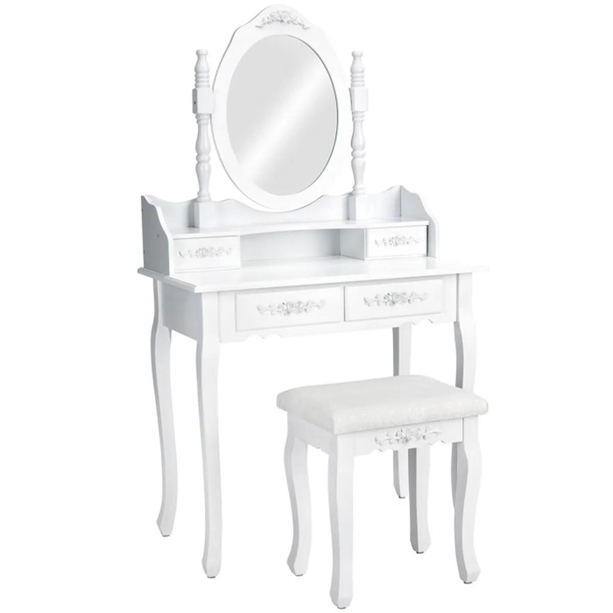 Coiffeuse Meuble Table De Maquillage Secrtaire Commode