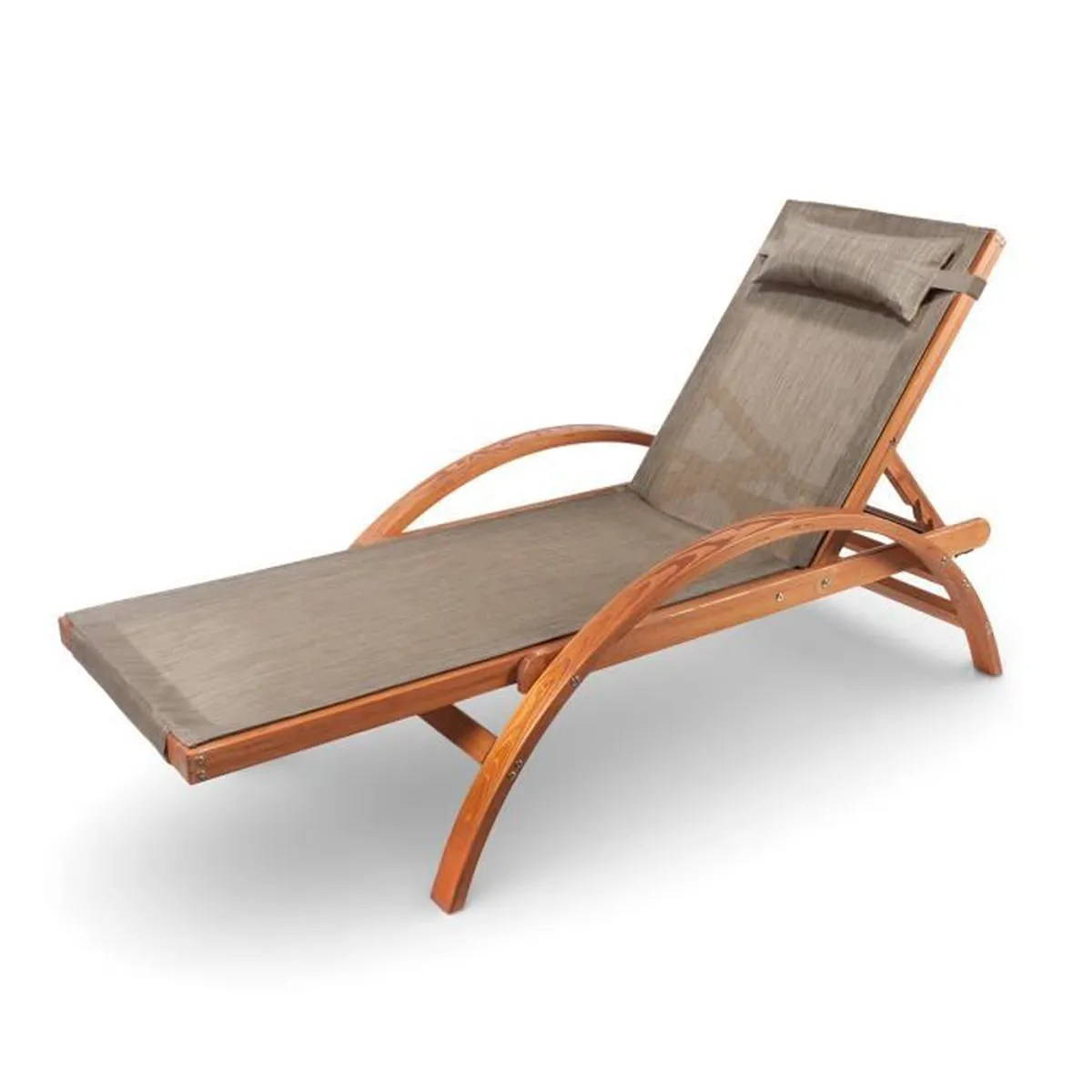 chaise longue jardin inox bain de soleil skaal les jardins. Black Bedroom Furniture Sets. Home Design Ideas