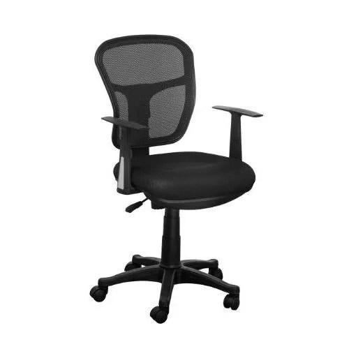 premier housewares 2403381 chaise de bureau grillage avec des bras noir