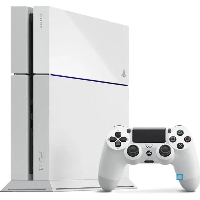 PS4 500 Go Blanche Achat Vente Console Ps4 PS4 500 Go