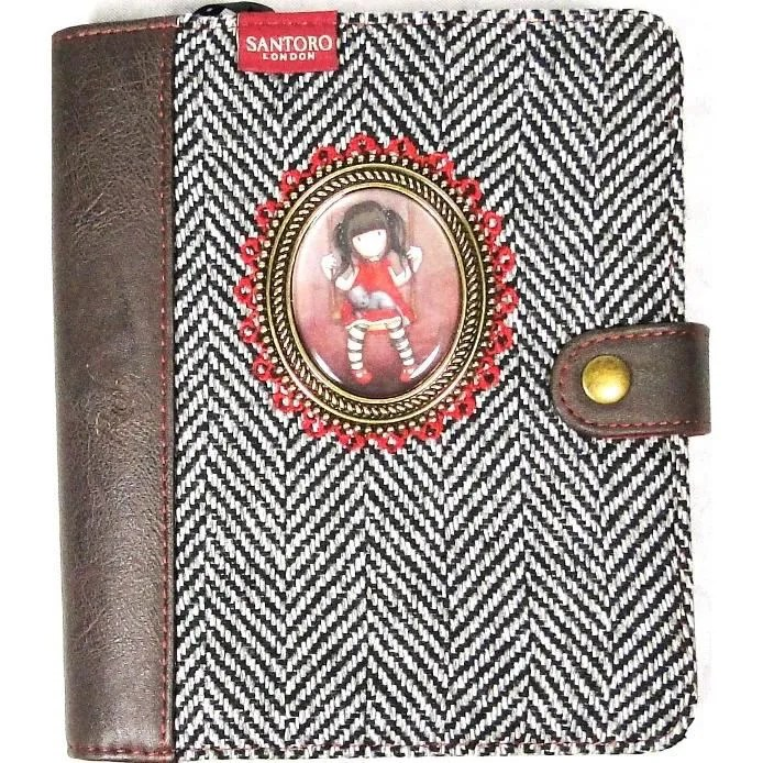 Organiseur Journal Tweed Gorjuss Ruby Achat Vente