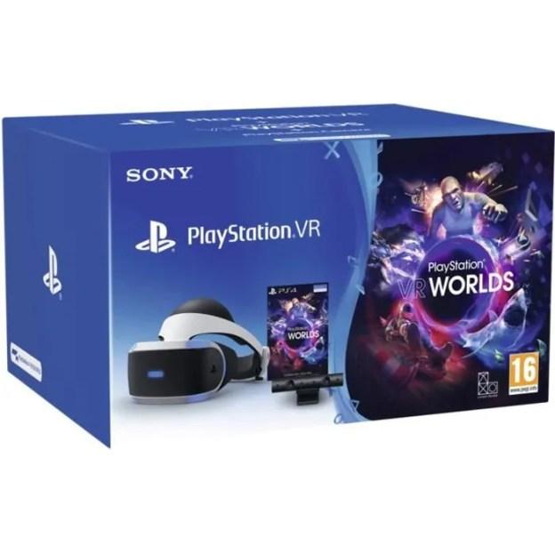 PlayStation VR + Camera + VR Worlds