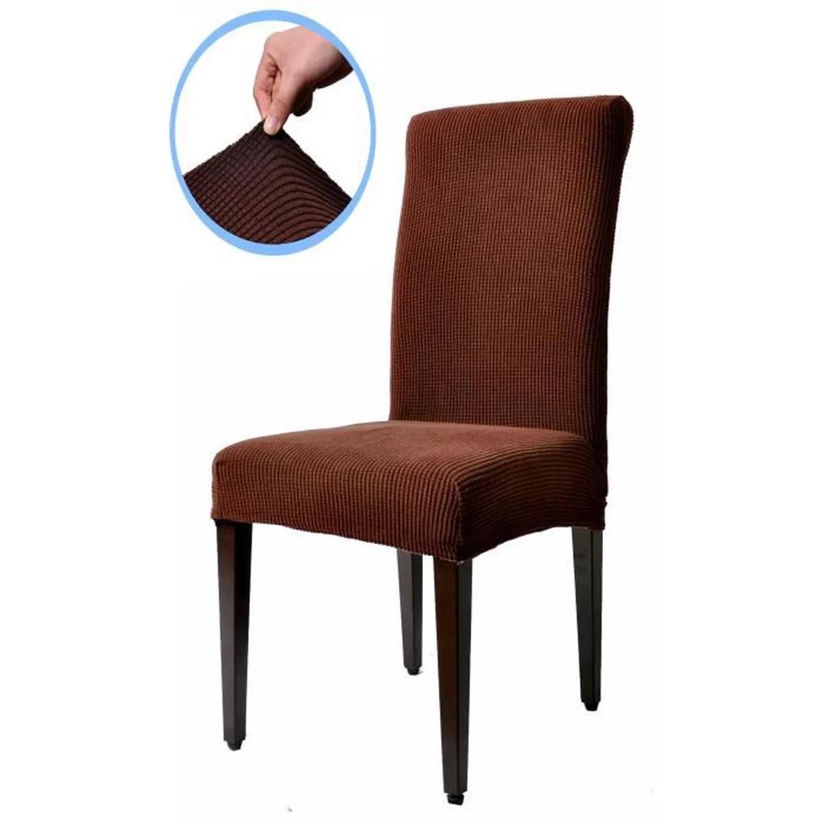 piece meuble subrtex housse de chaise de salle a manger jacquar