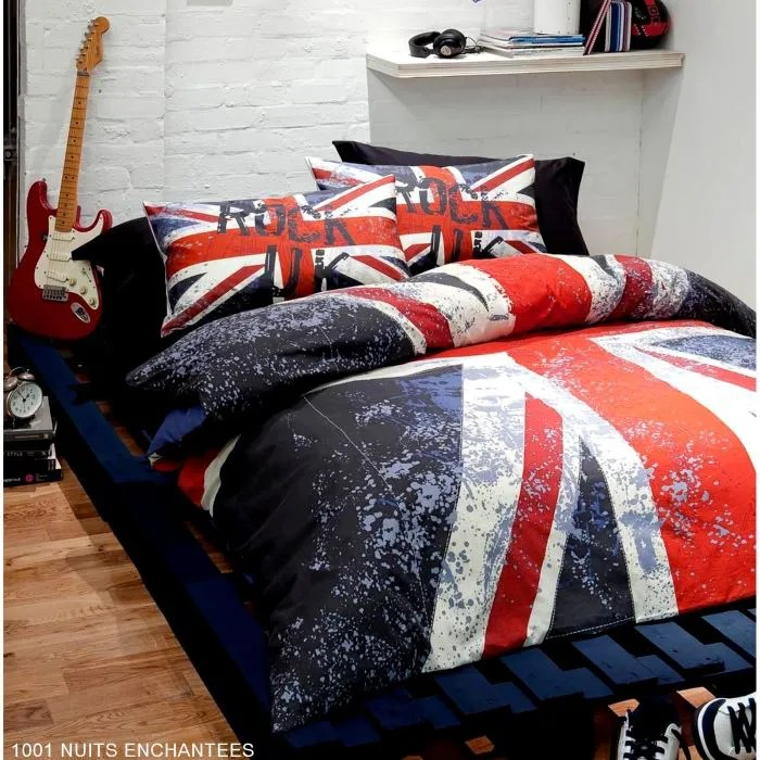Parure de lit double Londres London  Achat  Vente parure