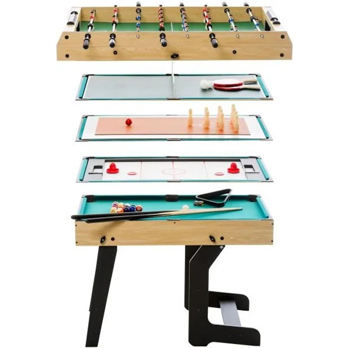 Table Multi Jeux Pliable 16 En 1 Achat Vente Table De
