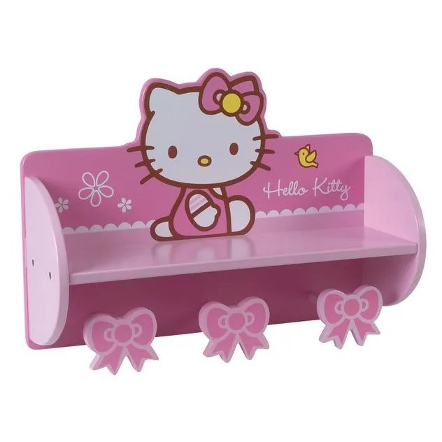 Etagre Porte Manteau Bow  Hello Kitty  Achat  Vente armoire  commode Etagre Bow  Kitty