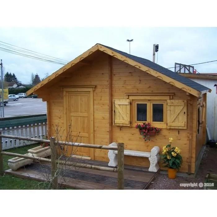 Chalet habitable montage compris 20 m2  Achat  Vente abri jardin  chalet Chalet habitable