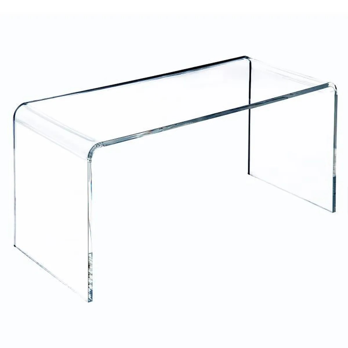 table basse verre acrylique transparent 52 ou trouver