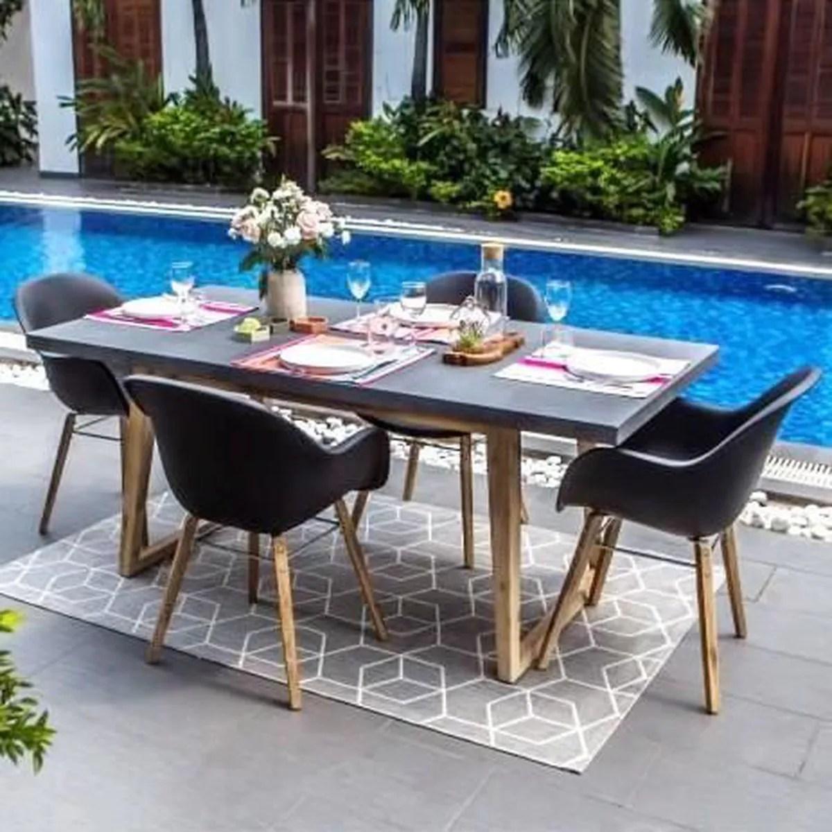 Best Salon De Jardin Metal Epoxy Ideas - House Design - marcomilone.com
