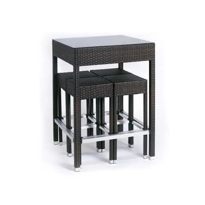 Ensemble Alto  Table haute  4 tabourets  Achat  Vente salon de jardin Ensemble Alto  Table