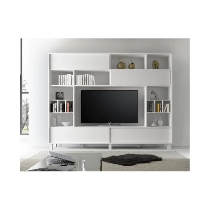 Meuble TV Bibliothque Design En 50 Ides Inspirantes