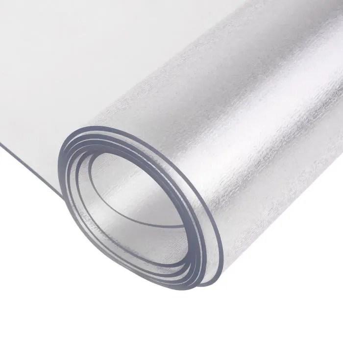 femor tapis sol tapis en pvc tapis bureau tapis protege sol pour sol dur pvc transparent 1200 900 1 5mm tapis de bureau transparent
