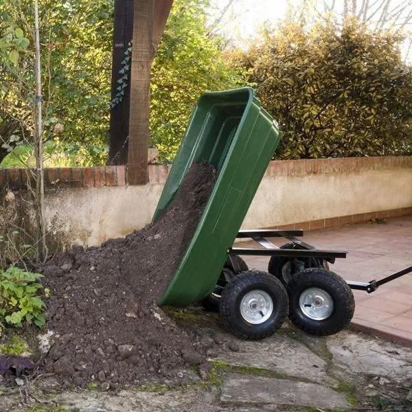 Chariot Remorque de jardin 75l 250kg  Achat  Vente brouette  Cdiscount