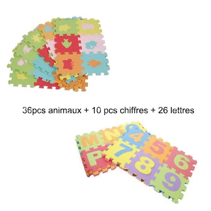 jeu puzzle en mousse tapis de sol