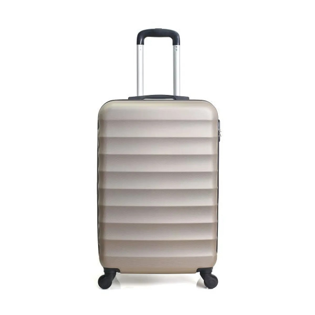 Valise Cabine Abs Coque Rigide 50cm Jakarta Champagne cd5be72b39f0