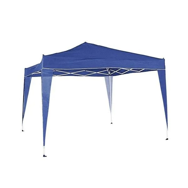 Maison Jardin Plein Air Tonnelle Alu Pliable Xm Bleu F Auc L