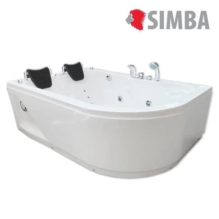 baignoire kit balneo baignoire balneo massante angle haute bain tou