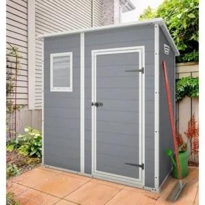 Abri Jardin Chalet Keter Premium Abri De Jardin En Pvc Monopente