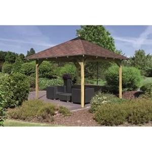 Pavillon de jardin en bois  Achat  Vente Pavillon de